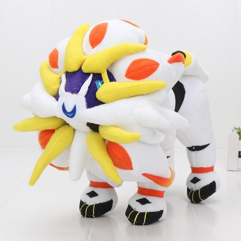 30cm Solgaleo Plush Toy Sun and Moon Series Alola Solgaleo Stuffed Plush Doll(China)