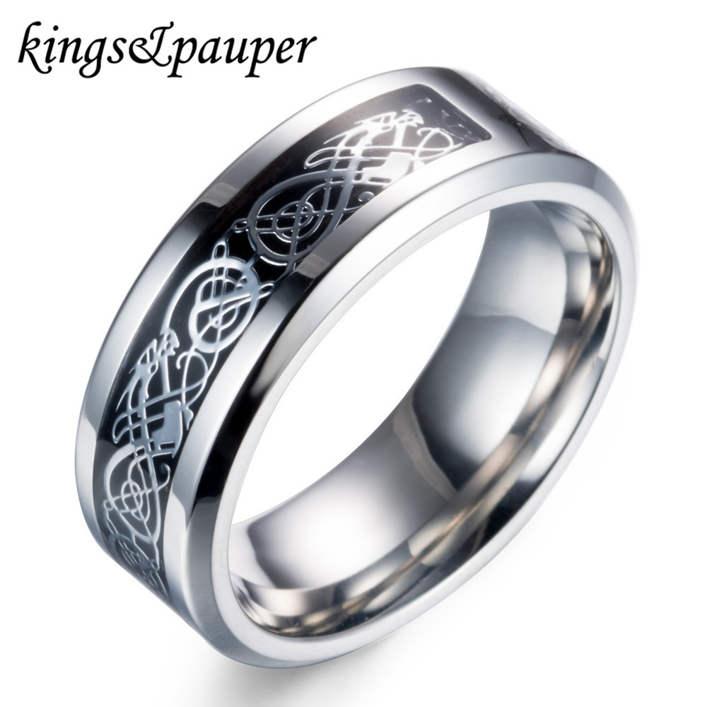 Stainless Steel Vintage Odin Rune Nordic Mythology Nibelung