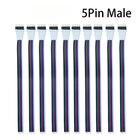 10Pcs 5 Pin 5050 3528 LED RGB Strip Extension Connector Cable Wire LED Strip Extension Cable 35