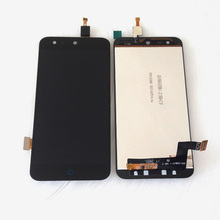 Black Full LCD DIsplay + Touch Screen Digitizer Assembly For ZTE Blade X5 / Blade D3 T630 Free shipping