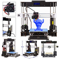 3D Printer A8 W5 Aviation Board Prusa i3 Reprap MK8 Extruder Heatbed LCD Controller Europe shipped from Germany