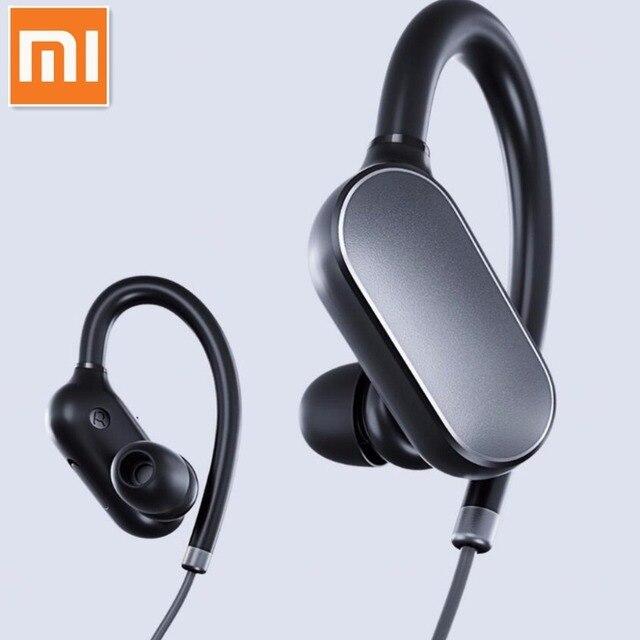 1e0eac79434 100% Original Xiaomi Mi Sports Bluetooth Headset Xiaomi Wireless Bluetooth  4.1 Music Sport Earbud IPX4