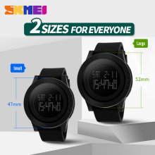 Hot SKMEI Women Sports Watches Fashion Casual Waterproof LED Digital Watch Women Student Wristwatches For Men Women