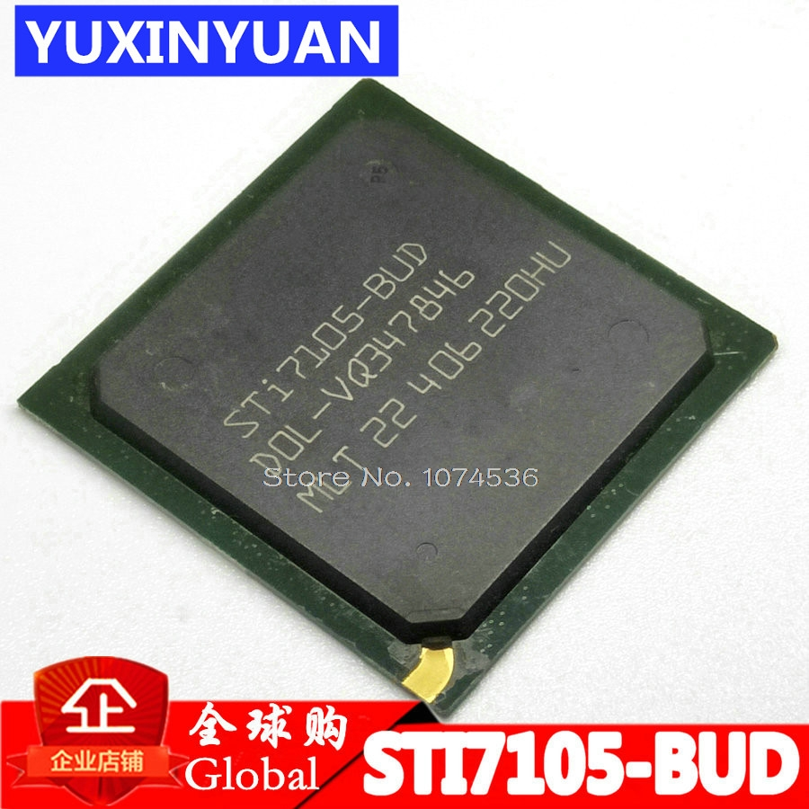 STI7105 STI7105-BUD STI7105BUD BGA Optical network set-top box chip 100%new 1pcsSTI7105 STI7105-BUD STI7105BUD BGA Optical network set-top box chip 100%new 1pcs