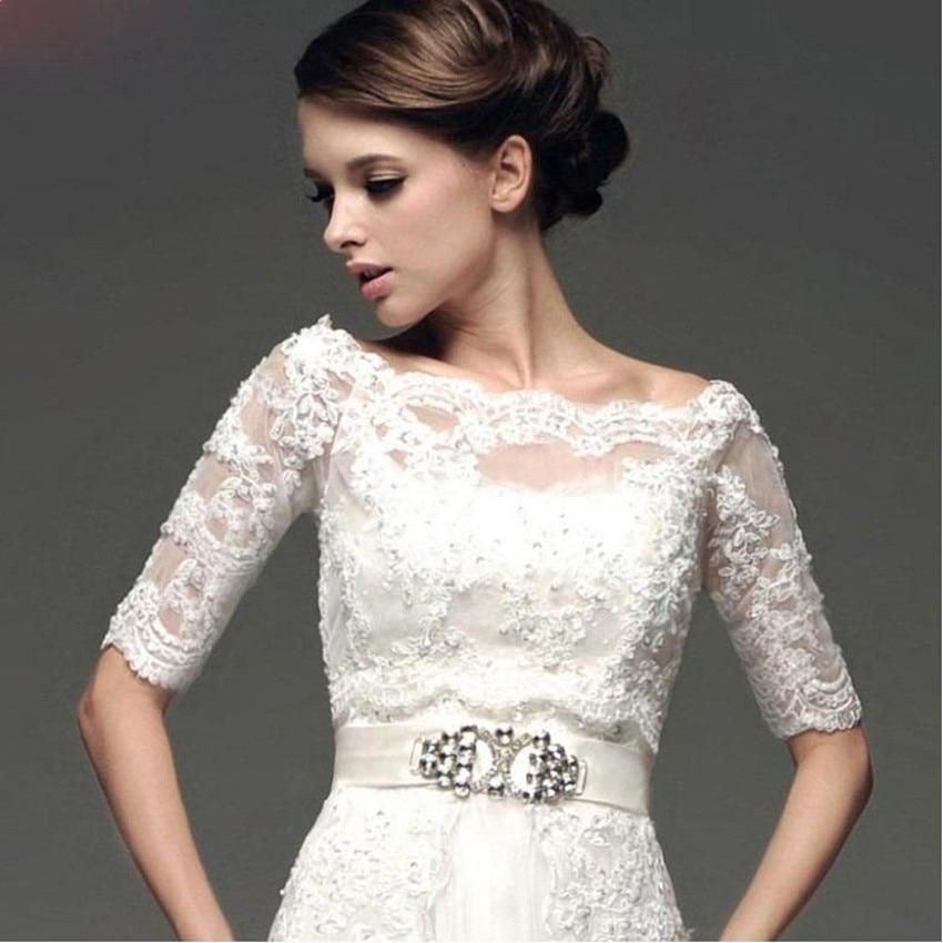 couture lace applique wedding bolero half sleeve bolero jackets for evening dresses boleros de novia bridal