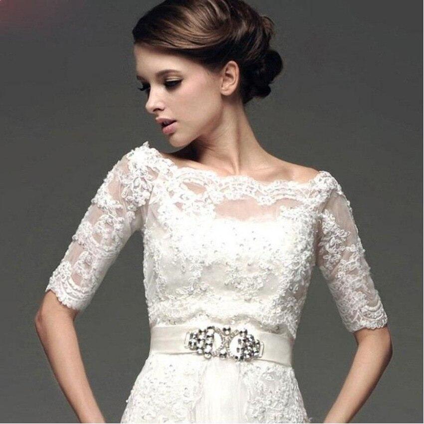 Online Get Cheap Lace Jacket for Wedding Dress -Aliexpress.com ...