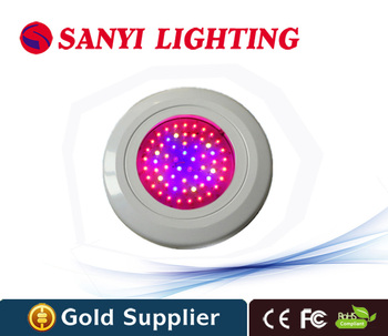 ufo 180w led grow light 60x3w red 630nm blue 460nm for indoor hydroponic growing system