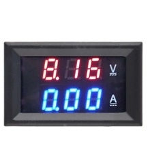 1PCS DC 0-100V 10A Voltmeter Ammeter Red+Blue /Red+Red LED Amp Dual Digital Volt Meter Gauge LED display