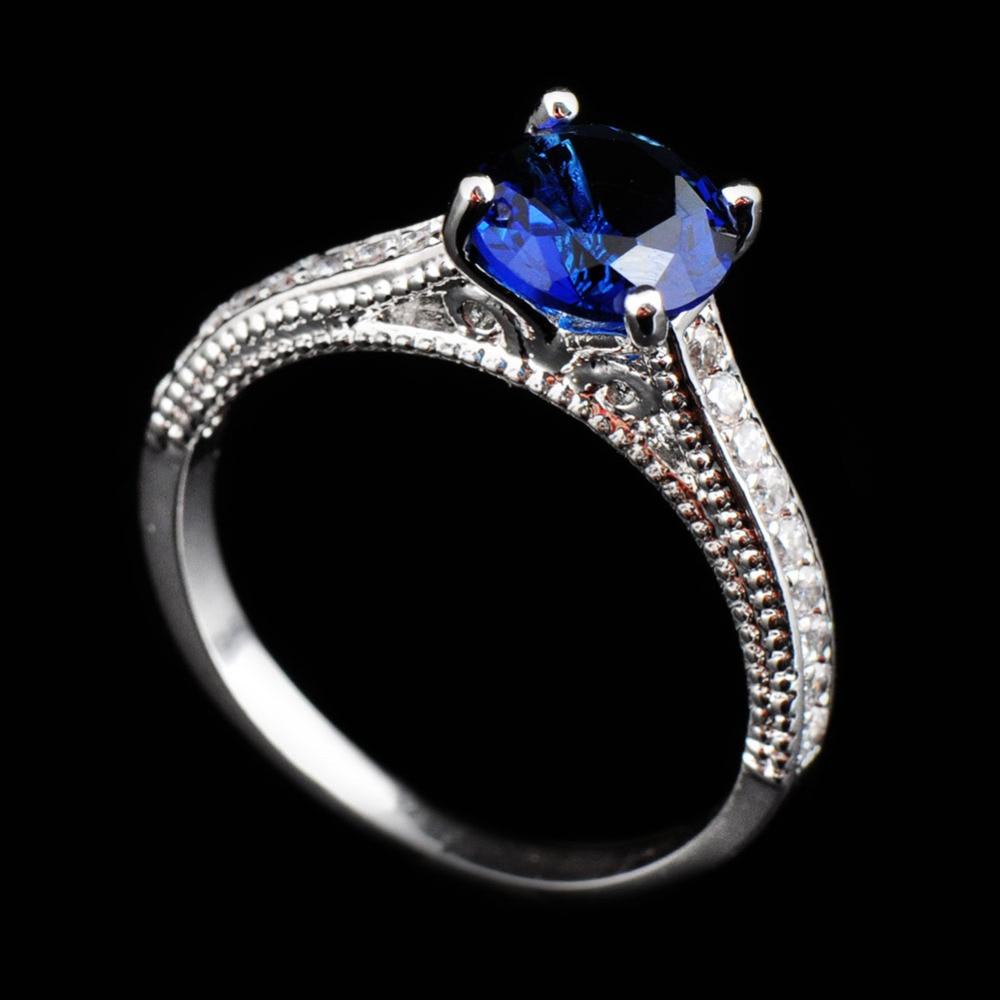 white sapphire wedding rings Marquise engagement ring Rose gold diamond ring engagement ring with 1 5ct white sapphire full