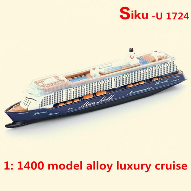 Alloy Cruise Ship Model SIKU U Model High End - Educational cruise ships
