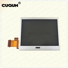 цена на 50PCS/LOT Original Brand NEW NDSLite Bottom LCD Screen Down Liquid Crystal Display Screen For Nintend DS Lite Console