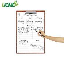 Сухая стираемая Наклейка на стену, список еженедельных календарей для рисования, ежедневник, доска напоминаний