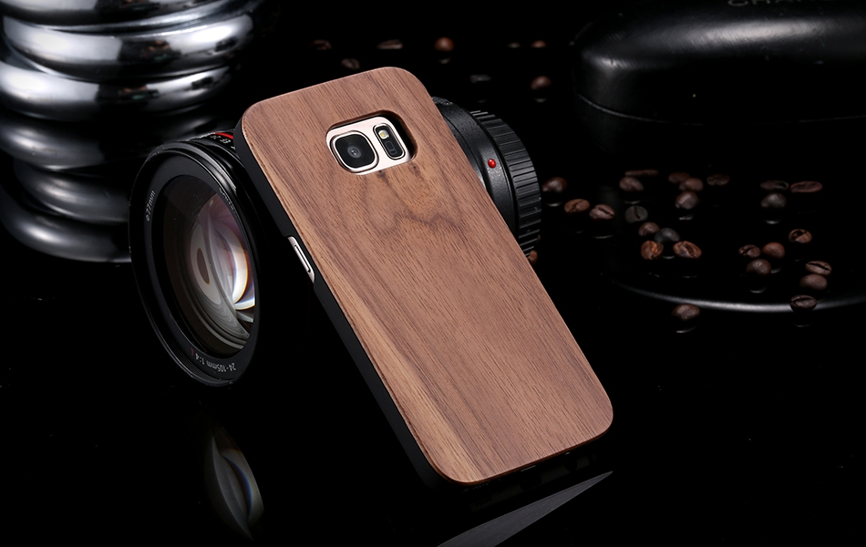 For Samsung Galaxy S8 Plus Real Wooden Case For Samsung S8 Galaxy S7 S6 Edge Back Cover (12)