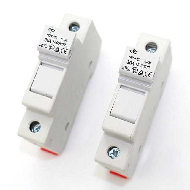 10 pieces lot 1500v dc solar pv fuse holder 10x38mm, fuse box for 95 neon fuse box diagram  ididit fuse box