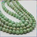 Venda de ações Simples Qualidade de Pedras Preciosas Esmeralda Natural Soltas Em Torno Beads 6 ~ 6.5mm/7.5 ~ 8mm