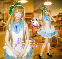 LoveLive! Minami Kotori Cosplay Fancy Dress Maid Dresses Halloween Adult Costumes for Women Cosplay Costume Custom Any Size nekopara cosplay chocolat maid costume any size