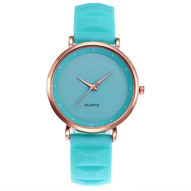 NEW Purple Beautiful pu leather band quartz Watches Best Sale dress buckle Watch Crystals Ladies simple watch dropshiping OC0824