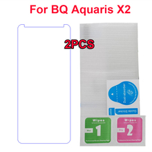 1Pc 2Pcs Explosion-proof 9H 25D Tempered Glass For BQ Aquaris X2 Screen