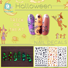 Get more info on the Rocooart  Latest Safety Luminous Manicure Decals Nail Art Stickers Halloween Cat Design Nail Self-adhesive DIY Tips Stickers.