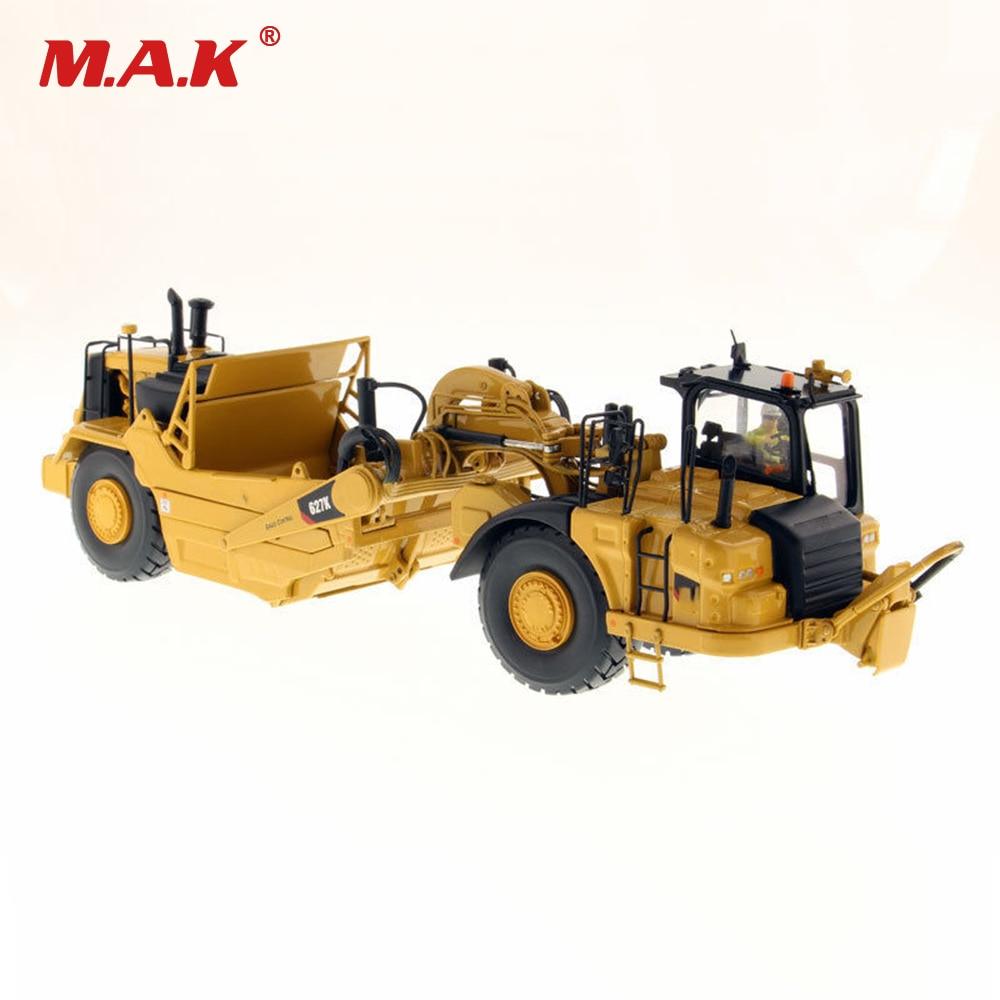 1/50 Alloy Diecast Bulldozer DM 627K Wheel Dozer - Scraper High Line 85921 Tractor Vehicles Model Toys for Collection Children цены онлайн