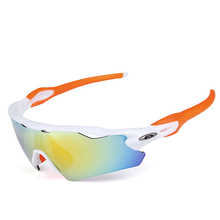 Polarized Outdoor Sports Bike Cycling Cycling Sunglass MTB Eyewear Glasses Goggles Bicycle 5 Lenses Ciclismo Occhiali #RE01