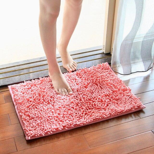40x60 50x80 60x90cm Bath Mat For Bathroom Rug Carpet Toilet Anti Slipping Water Absorbing