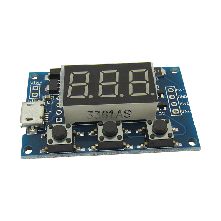 2 PWM pulse frequency adjustable duty cycle square wave signal generator stepper motor drive module kwx03 square wave signal source frequency dutycycle adjustable 0 1hz 34khz digital display