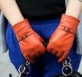 2014 Guantes de mujeres nuevo invierno alta calidad de conejo Luvas Mittens moda Touch pantalla exterior guante para mujer Guantes