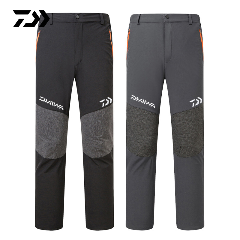 Summer Breathable Fishing Pants Outdoor Hiking Camping Quick Dry Men Pants Sports Loose Trousers Casual Fishing Pants 2019