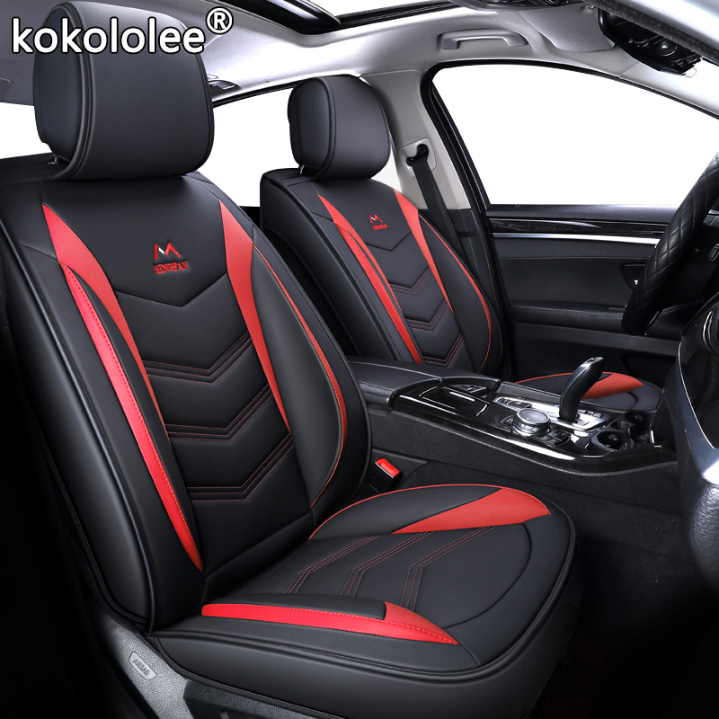 Image 2 - New Universal PU Leather car seat covers For kia Rio 3 4 2017 2018 Sorento 2005 2007 2011 2013 2016 2017 soul spectra styling-in Automobiles Seat Covers from Automobiles & Motorcycles