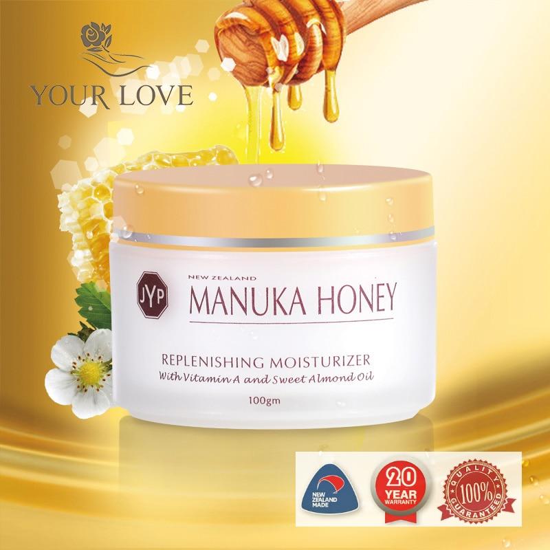 NewZealand JYP Manukau Honey Replenishing Cream Moisturizer Rejuvenující výživný krém na obličej vyživuje a hydratuje na suchou pokožku