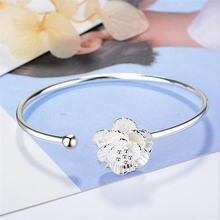 Новое поступление корейский стиль Мода 925 стерлингового серебра