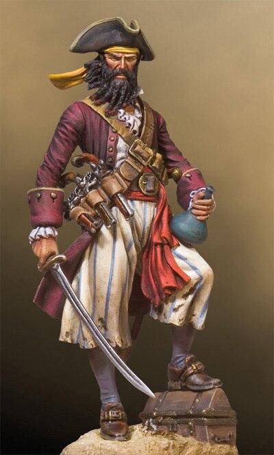 Aliexpress Com Buy Pirate Captain Blackbeard 54mm From