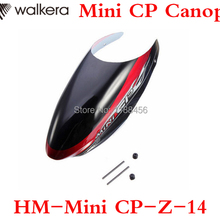 Free Shipping Original Walkera Mini CP Canopy Mini CP-Z-14 Canopy For W