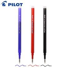 12 개/몫 파일럿 BLS FR7 FriXion 펜 리필 LFBK 23EF 및 LFB 20EF 젤 잉크 0.7mm