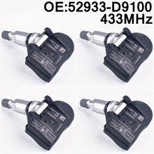 4 шт., Предупреждение льные датчики давления в шинах, для kia CADENZA NIRO OPTIMA SORENTO Sportage 4 KX5 K7