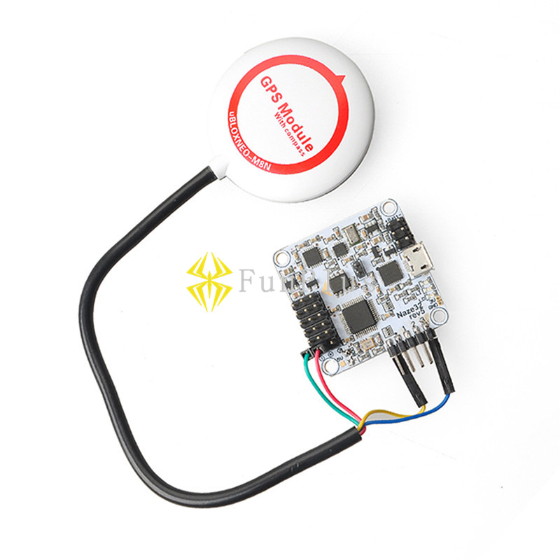 Andralyn Ublox NEO M8N GPS Module with Compass neo-m8n GPS for Naze32 DOF6 DOF10 Flip32 flight controller mini ublox neo m8n gps module with compasses for pixracer flight controller rc multicopter models diy accessories