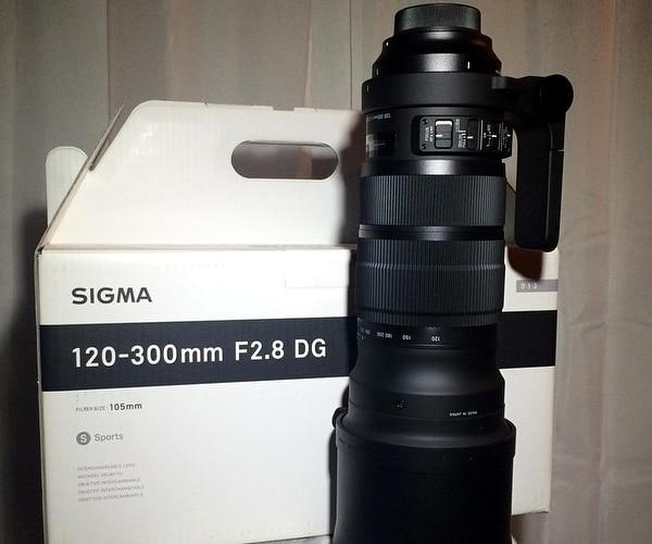Sigma Sports 120 300mm F/2.8 DG OS HSM Lens For Nikon D810 D750 D610 D7500 D7200 D7100 D5600