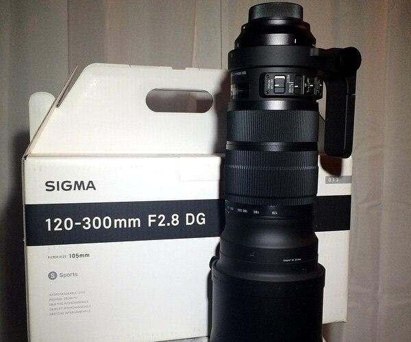 Sigma Sports 120-300mm F/2.8 DG OS HSM objectif pour Nikon D810 D750 D610 D7500 D7200 D7100 D5600