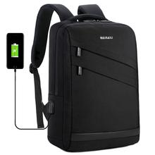 Business Laptop Backpack Water Resistant College Backpack with USB Charging Port /Headphone Interface 15.6