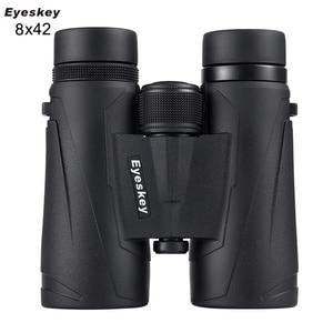 Image 1 - Eyeskey 8x42 전문 방수 쌍안경 여행과 사냥을위한 높은 투과율 망원경의 엑스트라 와이드 필드