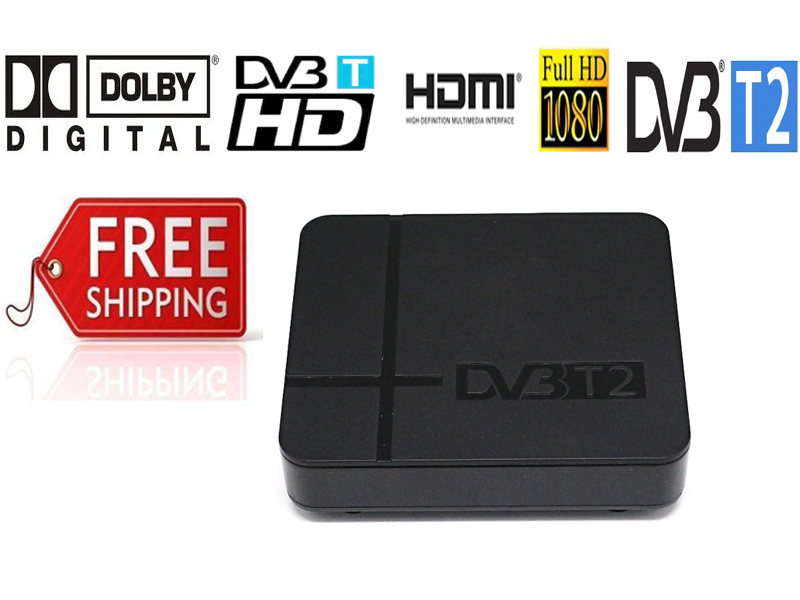 2019 Newest DVB-T2 Terrestrial Digital TV Signal Receiver Full Compatible With DVB-T/H.264 Supports Dolby Ac3 Dvb T2 Timer PVR