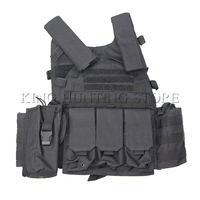 Free Shipping Airsoft Vest for Paintball Game CS Games Load Bearing Combat Training Hunting Tactical Vest