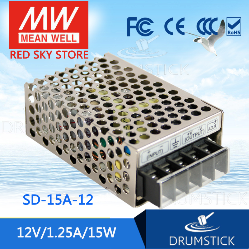 Best-selling MEAN WELL SD-15A-12 12V 1.25A meanwell SD-15 12V 15W Single Output DC-DC ConverterBest-selling MEAN WELL SD-15A-12 12V 1.25A meanwell SD-15 12V 15W Single Output DC-DC Converter