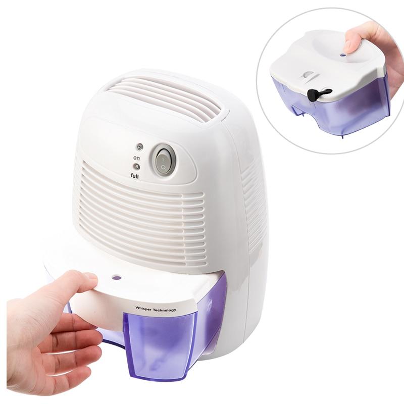 Dehumidifier Air Dryer Electric Air Dehumidifier For Home 500Ml Water Tank Dehumidifiers     - title=