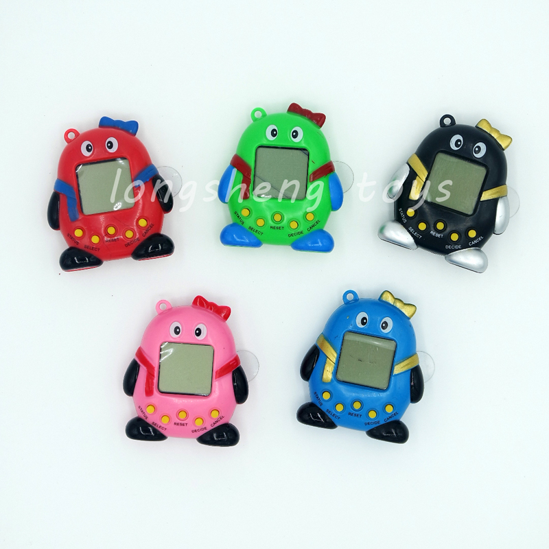 The latest fun Tamagochi pet virtual digital Penguin168 QQ pet 1 virtual network electronic toys Brinquedos children's gifts