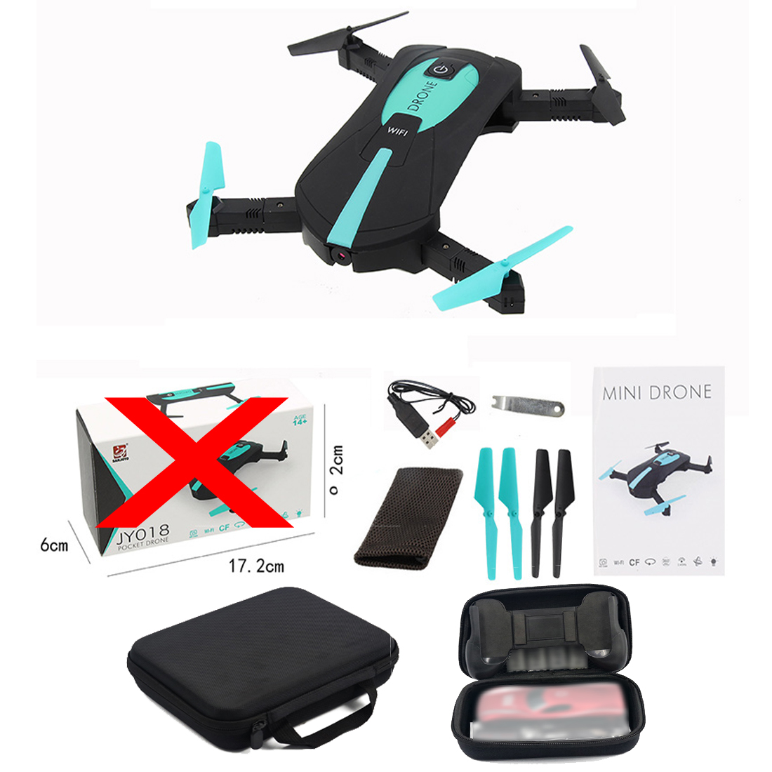 JY018 ELFIE WiFi FPV Quadcopter Mini Foldable Selfie Drone RC Drone with 0.3MP / 2MP Camera HD FPV VS H37 720P RC Helicopters rc drone 720p hd camera for x12 wifi fpv drone with camera rc quadcopter parts
