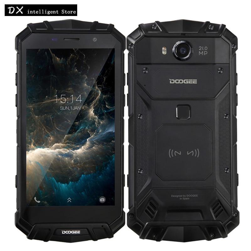 DOOGEE S60 6 gb 64 gb IP68 Wasserdichte Handy Helio P25 Octa Core 5,2