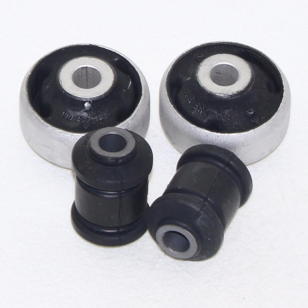 2Set Car Suspension Front Lower Arm Control Bushing For VW Bora Beetle Polo 9N Golf MK4 Jetta 4 TT A3 S3 357 407 182 180 407 181