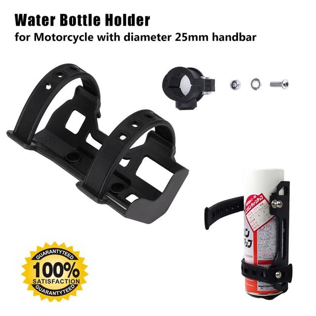 For R1200GS ADV F800GS F700GS V-Strom Engine Guard Crash Bars Cup Holder Motorbike Beverage Water Bottle Drink Cup Holder 25MM
